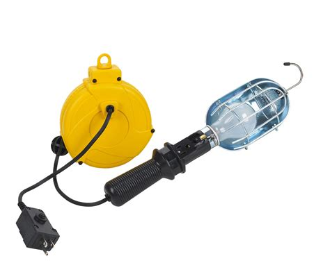 retractable work light home depot retractable reel pictures to pin on pinsdaddy