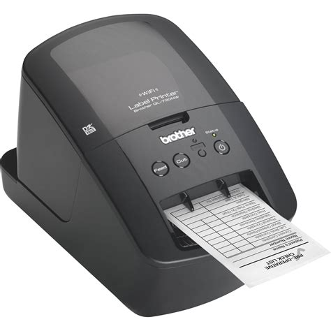 brother ql 720nw high speed label printer w ethernet ql 720nw