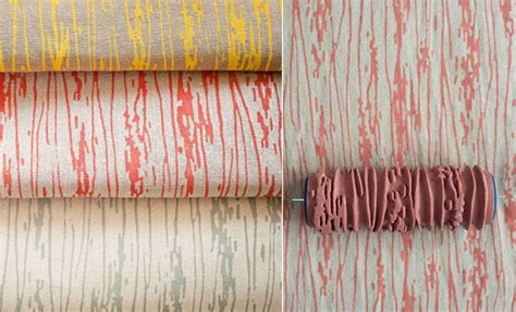 wallpaper paint roller patterned paint rollers create classic wallpaper via