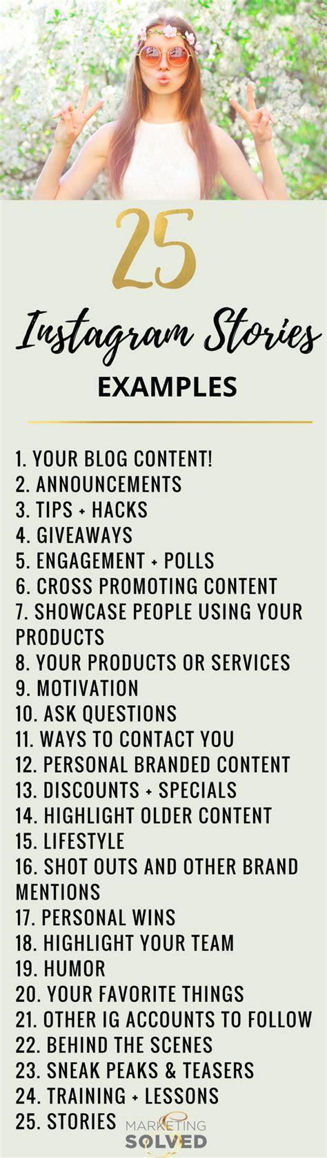 25 instagram post ideas hellotasha 25 instagram stories you should be creating instagram