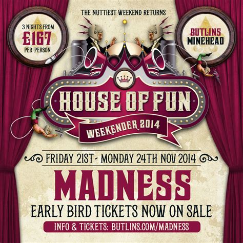 house of fun fan page house of fun 2014 early bird tickets on sale now madness
