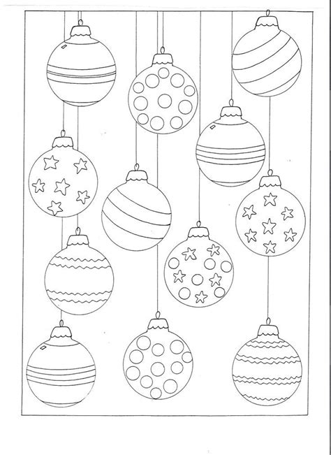 28 best christmas baubles to colour free coloring