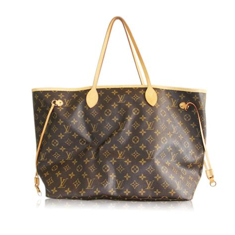 authentic louis vuitton monogram neverfull gm tote bag