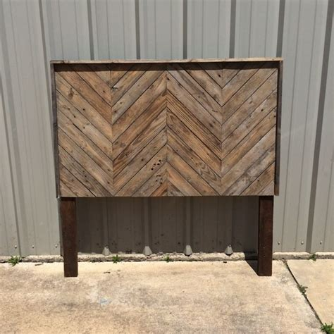 wooden rustic headboards best 20 chevron headboard ideas on pinterest wood