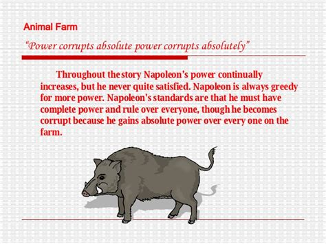 themes and exles in animal farm themes of animal farm