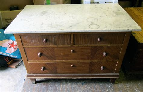 antique dresser drawer stops marble top german pine chest of drawers