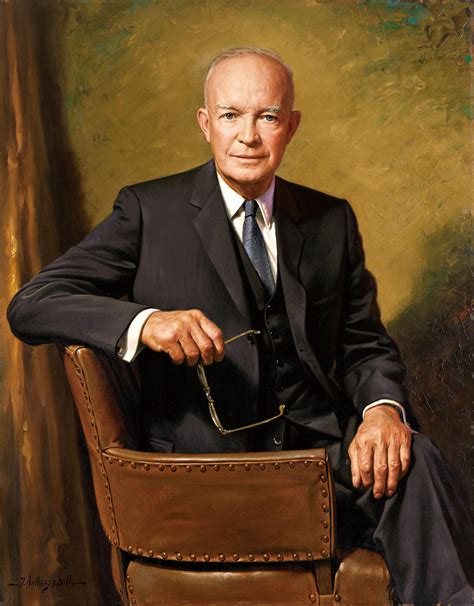 eisenhower becoming the leader of the free world books file dwight d eisenhower official presidential portrait