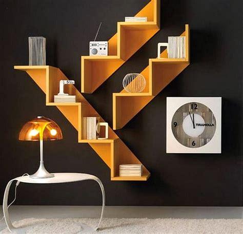 model rak buku minimalis  unik terbaru  dekor rumah