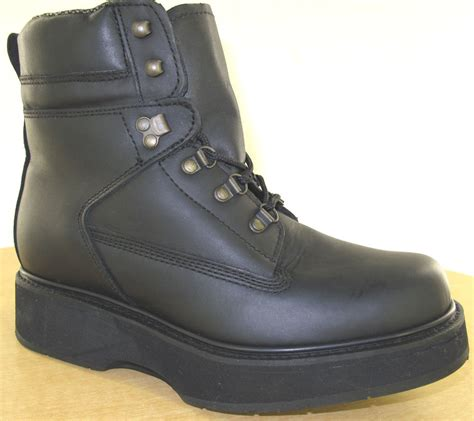 Mens Dress Shoes 6e Width by Hitchcock Mens Boots Style 299 Black New 3e 5e 6e Wide Ebay