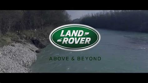 land rover above and beyond logo range rover quot above and beyond quot