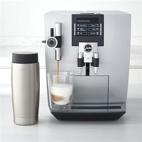 Coffee Maker Merk Jura jura j90 automatic coffee espresso machine williams sonoma