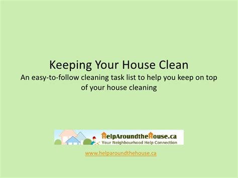 keeping your house clean helparoundthehouse ca i keeping your house clean i house