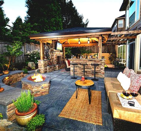 Backyard Ideas On A Budget Patios Fire Pitwhat Great Idea