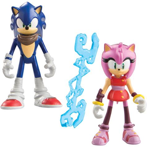 Sonic Gift Cards At Walmart - tomy 3 quot figure 2 pack sonic and amy action figures