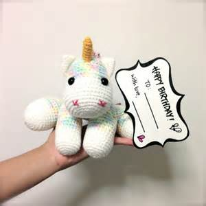 items similar to christmas gift amigurumi unicorn crochet wooden mirrors for living room 2017 2018 best cars reviews