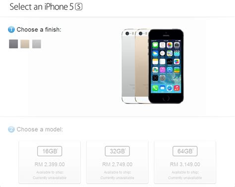 Macbook Malaysia breaking apple store lists retail prices of iphone 5s and 5c from rm1999 lowyat net