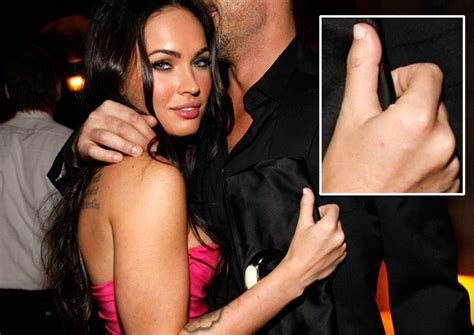 would celebrities megan fox thumbs pictures genetic