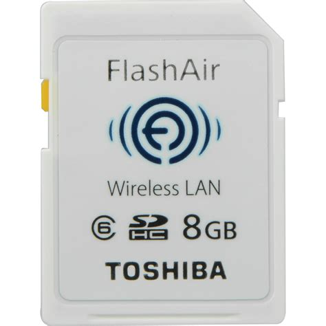 Toshiba Flashair Wifi Sd Card Eye Fi Sd R008gr7w6 Class 6 8gb toshiba 8gb flashair wireless sd card pfw008u 1abw b h photo