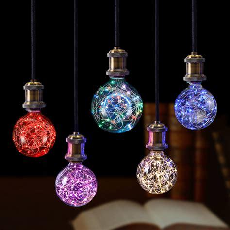 slotted base christmas bulbs rgb led light filament l retro edison led light string bulb g95 e27 110v 220v for