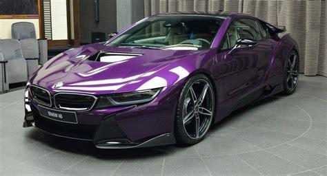 Best Front Door Paint Colors Bespoke Twilight Purple Bmw I8 Created By Abu Dhabi Dealer