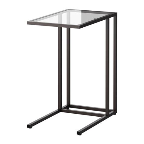 All For Color Lap Desk Vittsj 214 Laptop Stand Black Brown Glass Ikea