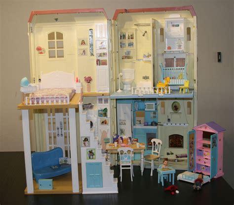 dollhouse 2000s 2004 mattel happy family smart house sounds