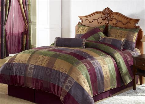eggplant comforter set lavender purple and eggplant bedroom design ideas seekyt