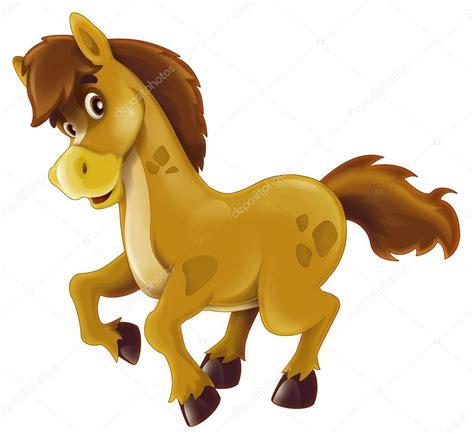 imagenes vectores caballos dibujos animados feliz caballo aislado ilustraci 243 n