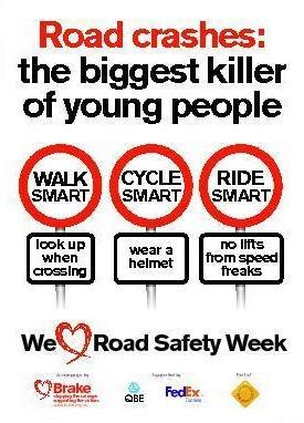 printable road safety posters road safety week an initiative by brake media centre