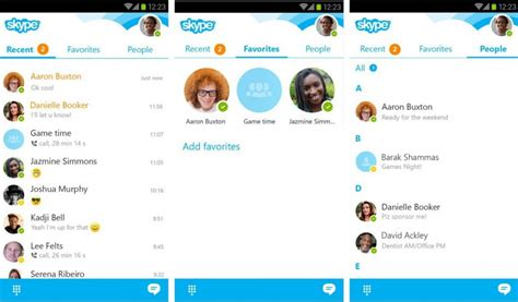 skype mobile android skype sur android une nouvelle mise 224 jour pour