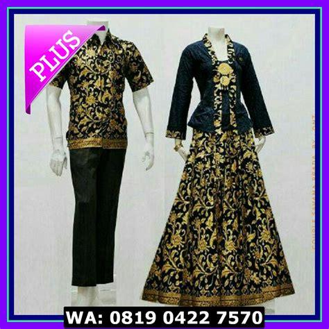 Baju Couplebatik Couplebatik Sarimbit D1857 murah baju batik sarimbit savana elevenia