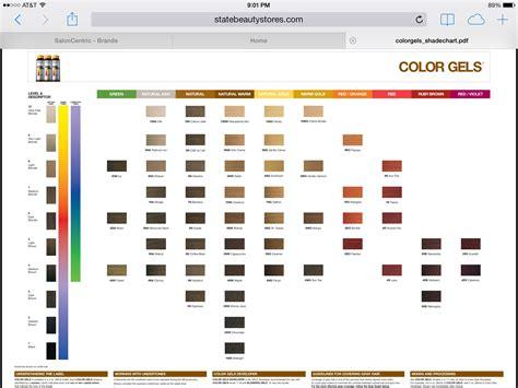 redken color gels redken color gels chart