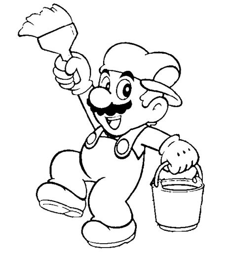 mario sunshine coloring pages mario sunshine coloring pages