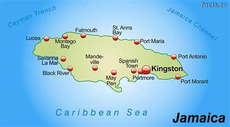 map us jamaica jamaica map with cities political jamaica map outline