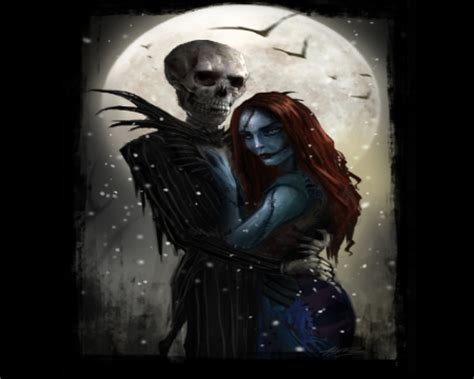 wallpaper nightmare before christmas jack and sally jack and sally fantasy abstract background wallpapers