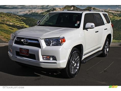 2012 toyota 4runner limited blizzard white pearl 2012 toyota 4runner limited 4x4