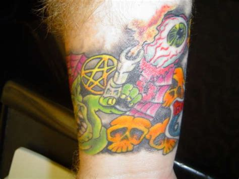 rob zombie tattoos wrist inspired by rob 1