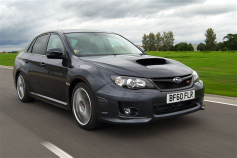 subaru uk presents 2011 wrx sti drops impreza name from