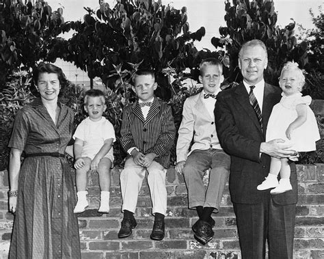 gerald ford and his family 38th presidency gerald