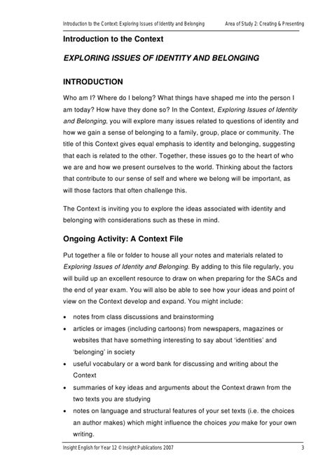 Australian Identity Essay by Identity And Belonging Essay Topics Functions Transformations Homework Help Sle Resume Of A