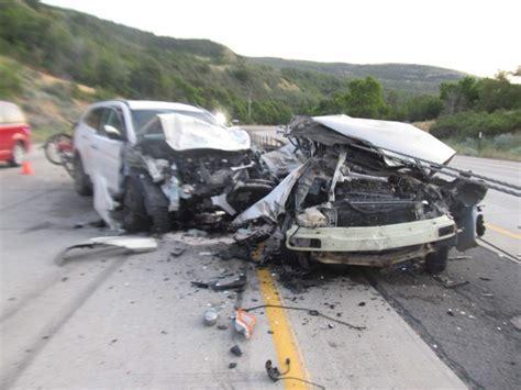recent car crash articles utah dies in two car crash in provo the salt