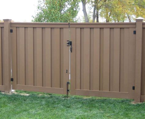 privacy fence gate width decor references