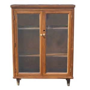 glass bookcase cabinet mid century modern walnut glass cabinet bookcase
