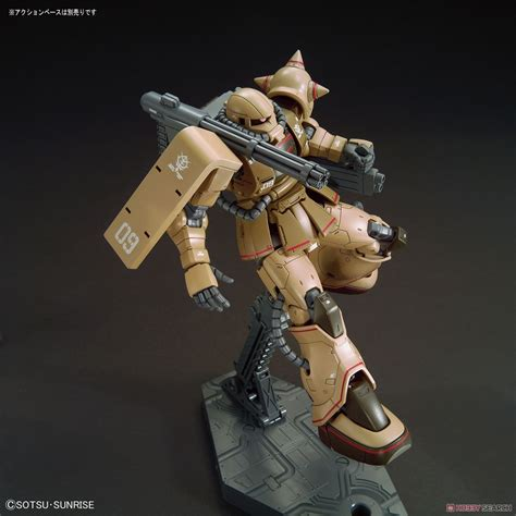 Hg 1 144 Zaku Half Cannon Bandai bandai zaku half cannon hg 1 144 gundam the origin 019
