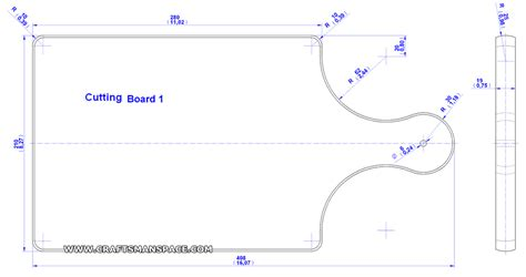 kitchen cutting board plan