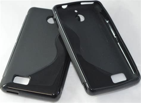 Quality Softcase Sony Experia E1 D2005 premium quality s line tpu silicone back for sony xperia e1 d2005 black