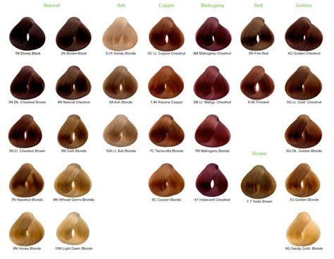 which is the best otc blond hair color product 4 best images of shades of blonde hair chart different