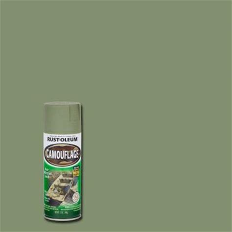 rust oleum specialty 12 oz army green camouflage spray paint 1920830 the home depot