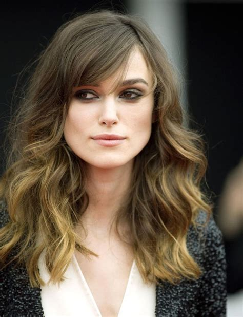 high forehead side bangs hair what is the best hairstyle cortes de pelo 2014 keira knightley high forehead and