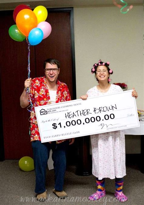 Publishers Clearing House Costume - couples archives really awesome costumes